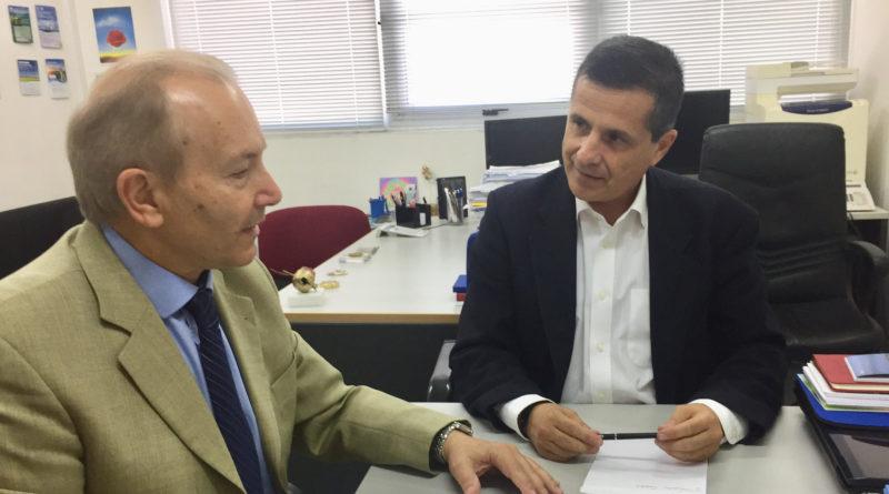 Συνάντηση Στέφανου Γκίκα – Κώστα Αραβώση για την Ολοκληρωμένη Διαχείριση των Απορριμμάτων στην Κέρκυρα