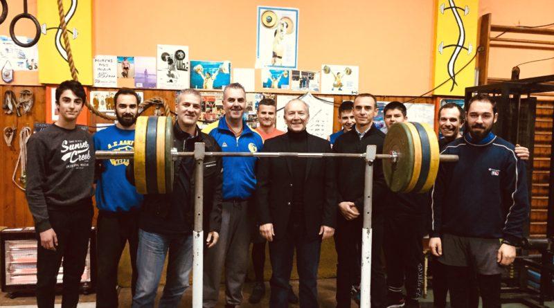 Άθλιες οι Συνθήκες στο Γυμναστήριο της Άρσης Βαρών στο ΕΑΚΚ