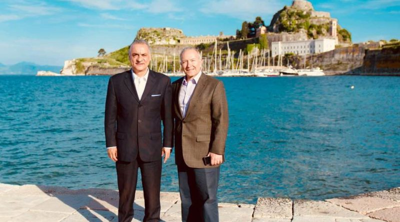 Επίσκεψη Μανώλη Κεφαλογιάννη στην Κέρκυρα: Πρώτα στην Ατζέντα τα Εθνικά Ζητήματα