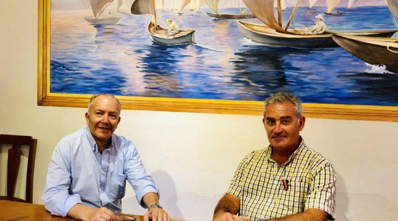 Επίσκεψη Στ. Γκίκα στους Παξούς – Συνάντηση με τον Δήμαρχο Παξών, Σπ. Βλαχόπουλο