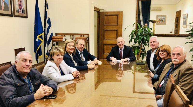 Συνάντηση Στ. Γκίκα με την Ομοσπονδία Συλλόγων Κερκυραίων Αττικής
