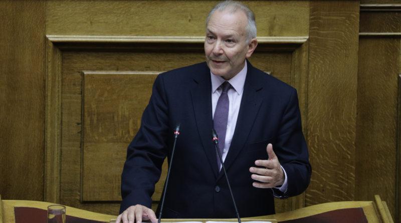 Πρόταση Στ. Γκίκα από το Βήμα της Βουλής: Αύξηση του Προϋπολογισμού για τα Εξοπλιστικά Προγράμματα των ΕΔ κατά 0,5% του ΑΕΠ για μία Πενταετία