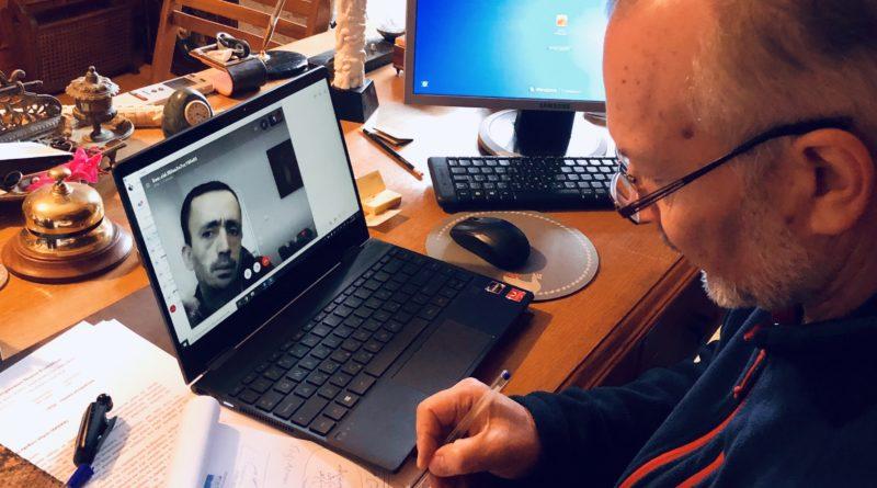 Τηλεδιάσκεψη Στ. Γκίκα και Λ. Ρουμπάτη για την Προετοιμασία του Γ.Ν. Κέρκυρας