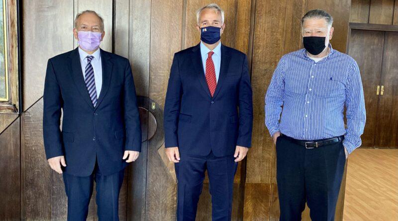 Συνάντηση Στ. Γκίκα με Υπ. Εσωτερικών Μ. Βορίδη για Θέματα της Π.Ε. Κέρκυρας