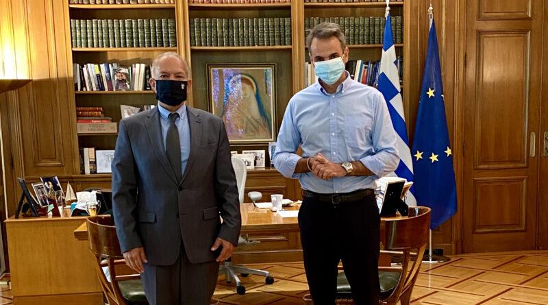 Συνάντηση Στ. Γκίκα με τον Πρωθυπουργό